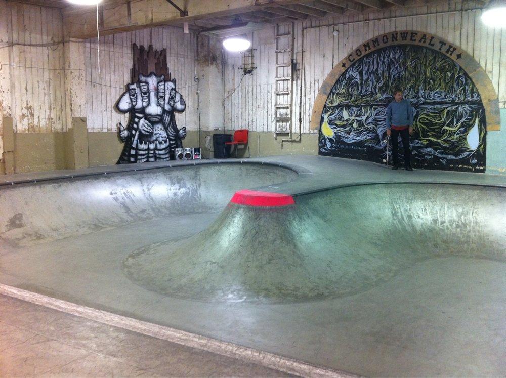 indoor concrete