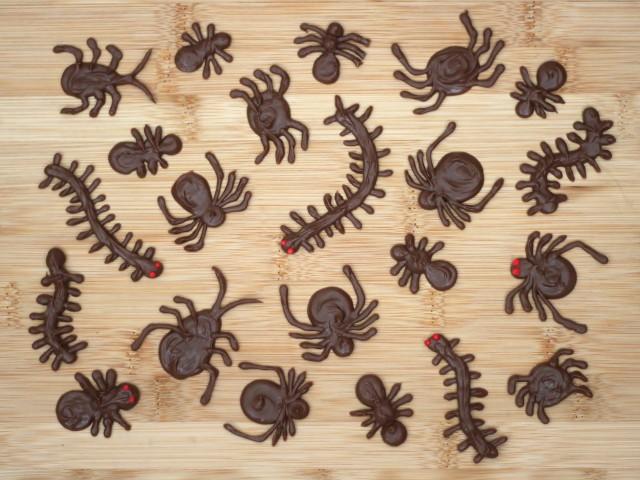 Cute Food For Kids - Chocolate Bugs