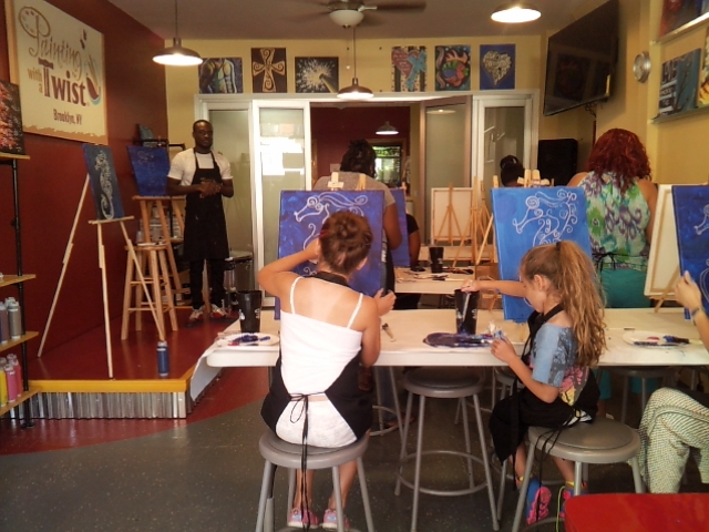 Paint n Sip Painting with a Twist