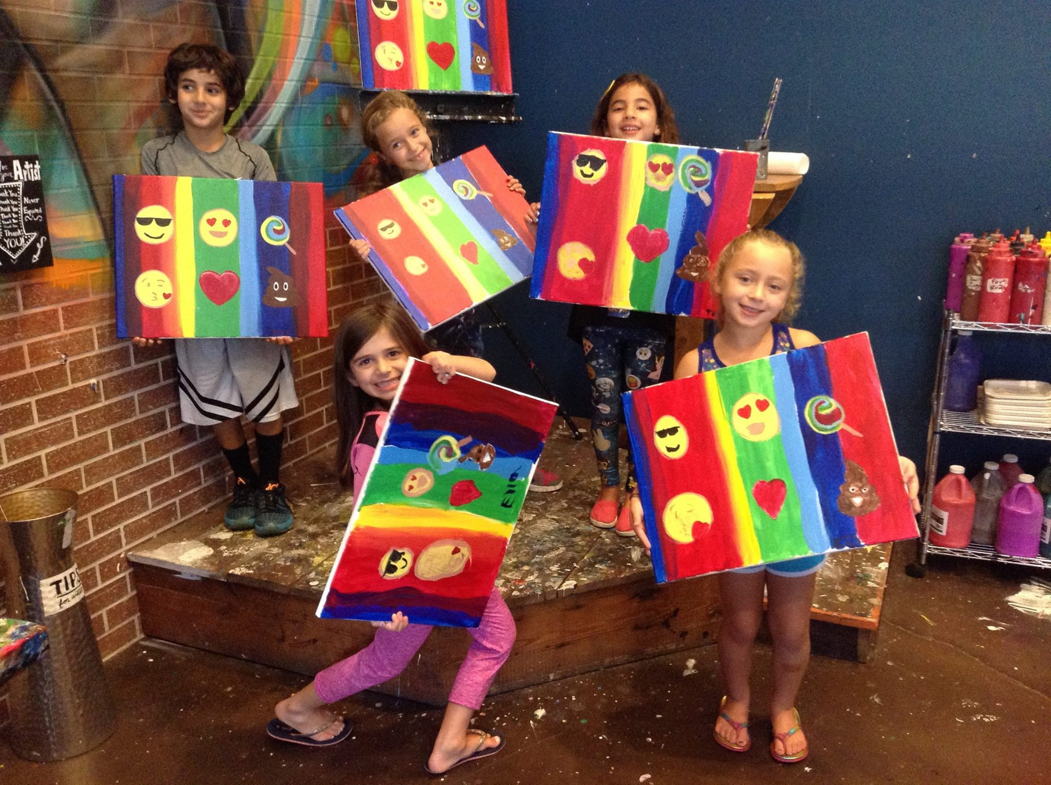 Nyc Paint Sip Studios Where You Can Create With The Kids