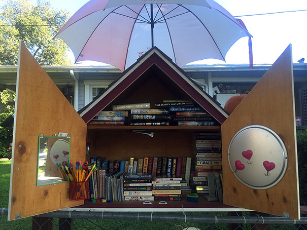 The Free Little Library is a literacy movement across the USA and the world: There are several in Atwater Village