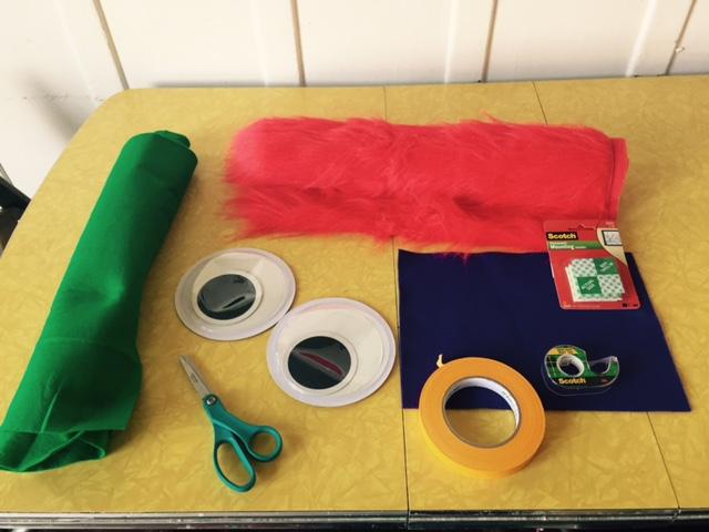 RTD door monster craft supplies