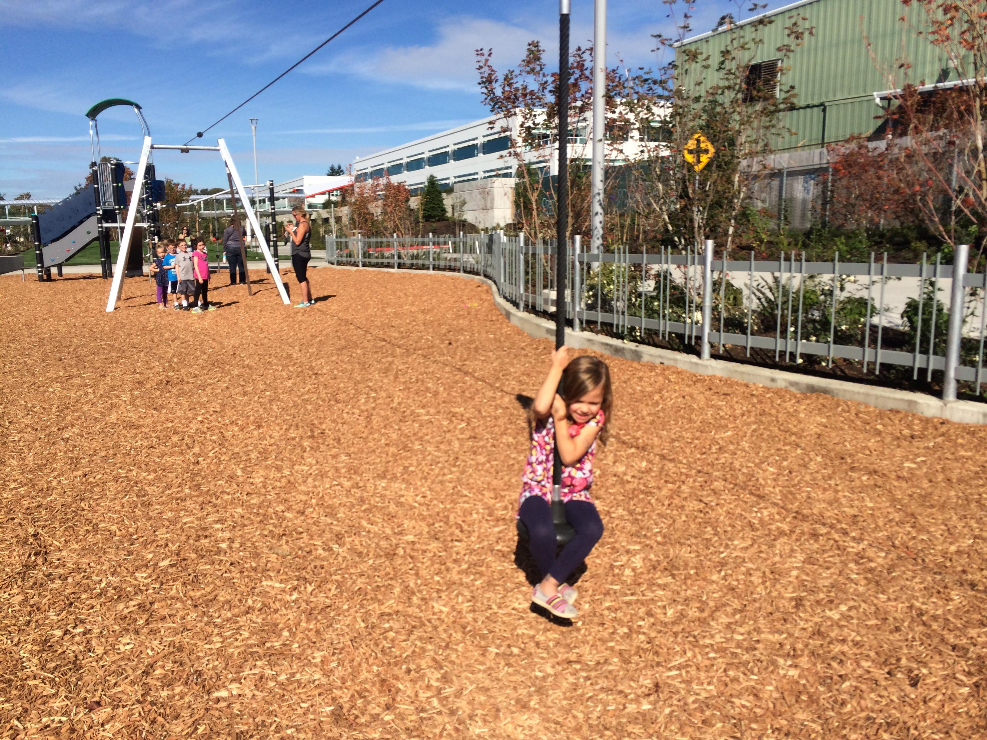 Google park zipline