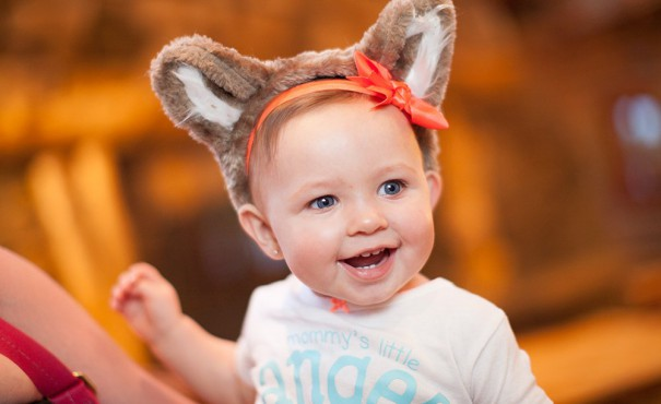 Great Wolf Lodge Baby with Wolf Ears