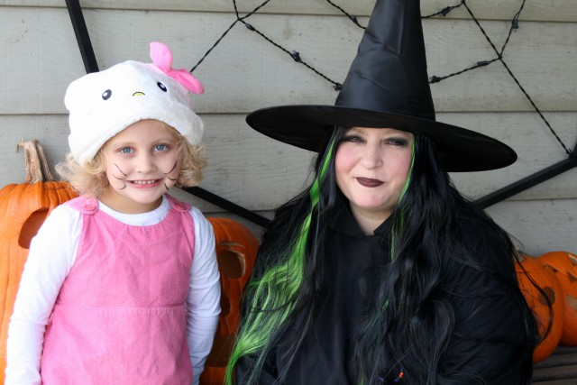 Halloween Child with With - Anjanettew