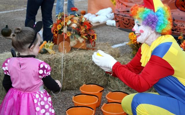 Halloween Clown with Minnie - Southern Arkansas University