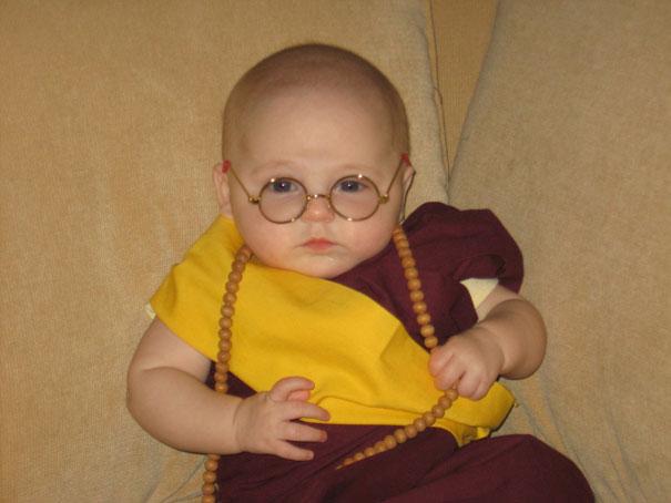 ghandi baby costume