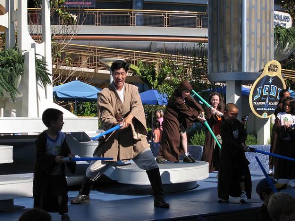 Jedi Training Academy via Flickr