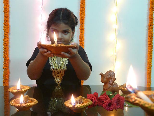 diwali kid