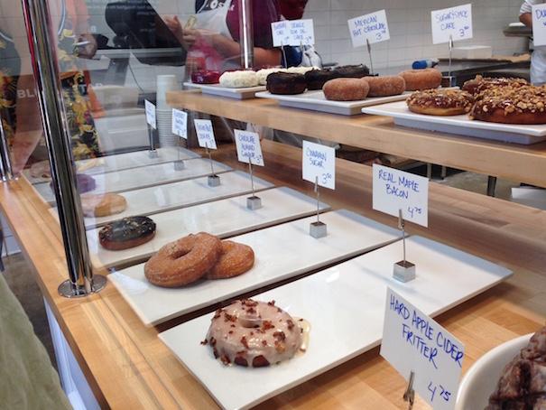 Blue Star Donuts Display