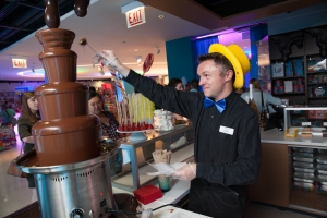 Dylan's Candy Bar Chicago Chocolate Fountain