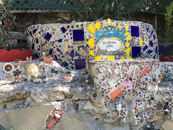 Garden Of Oz Plaque