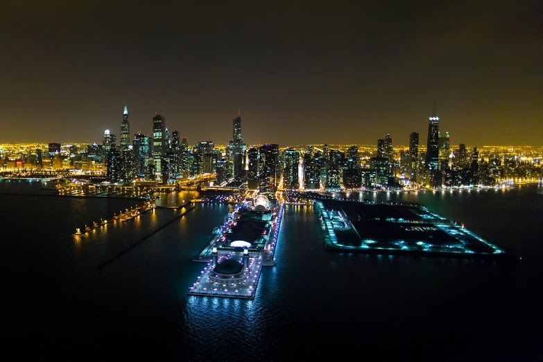 Chicago Lights Helicopter Tour Navy Pier