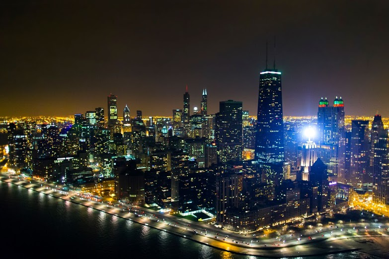 Chicago Lights Helicopter Tour Lake Shore Dr.