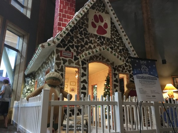 Great Wolf Lodge - Gingerbread House