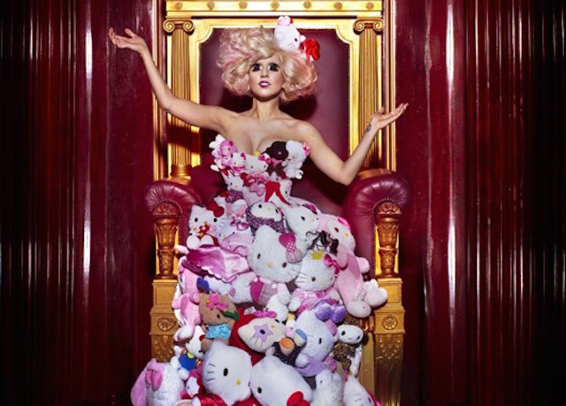 Lady Gaga Hello Kitty Dress