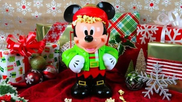 Mickey Elf Popcorn Bucket at Disneyland
