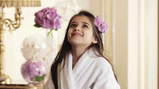 Kids can get the Princess treatment at the the Spa at Beverly Wilshire, Beverly Hills