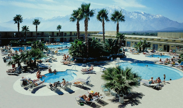 Desert Hot Springs Spa Hotel has mineral springs for the whole family