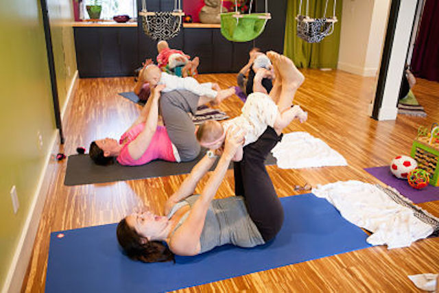 Limber yoga mommy and me class