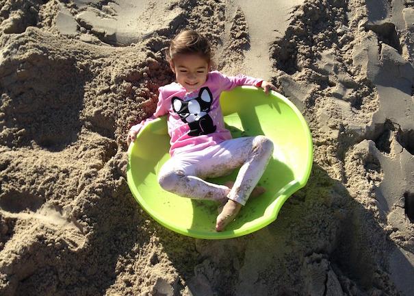 Sand Sledding Main