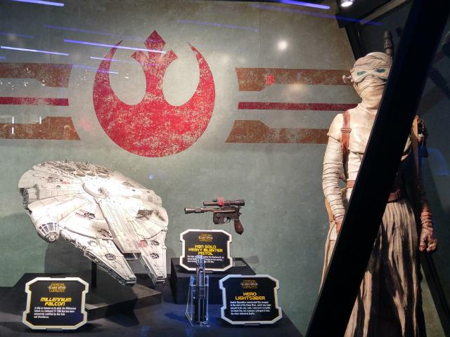 Season of the Force Launch Bay at Disneyland