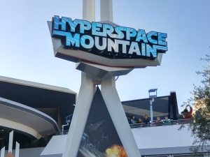 Star Wars Season of the Force Hyperspace Mountain at Disneyland