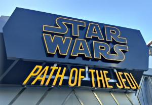 Star Wars Season of the Force Path of the Jedi at Disneyland