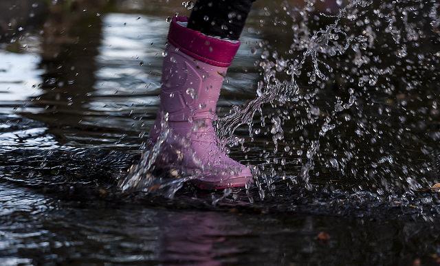 puddle splash kid rainboot