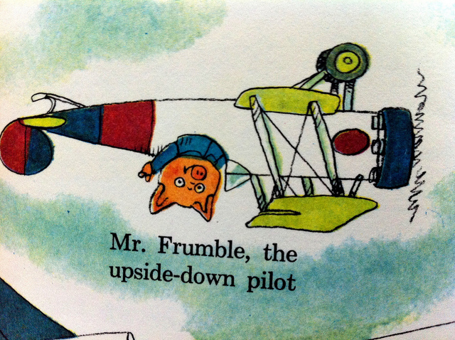 mr frumble from richard scarry's busytown