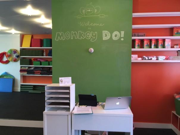Monkey Do! Yoga Studio Entrance