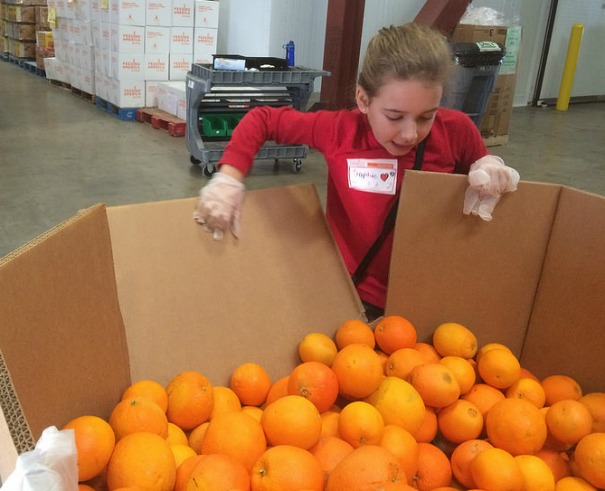feeding america oranges