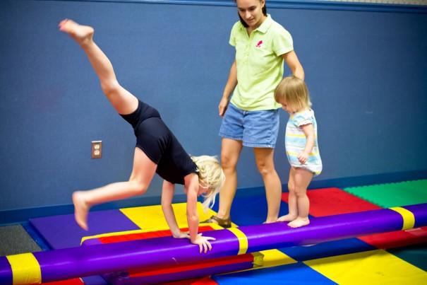 Gymnastics toddler