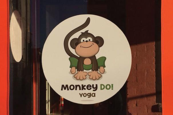 Monkey Do! Yoga Signage