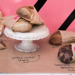 Pinkies Bakery breads