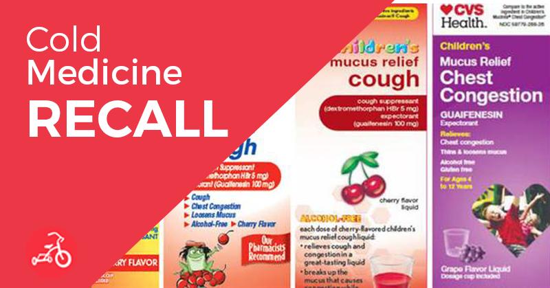 Cold Medicine Recall