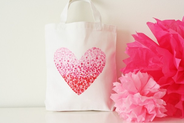 V and Co Heart Bag