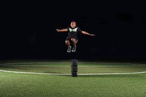 Acceleration Boy Jumping