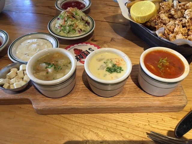 Connie and Teds Clam Chowder Sampler 2