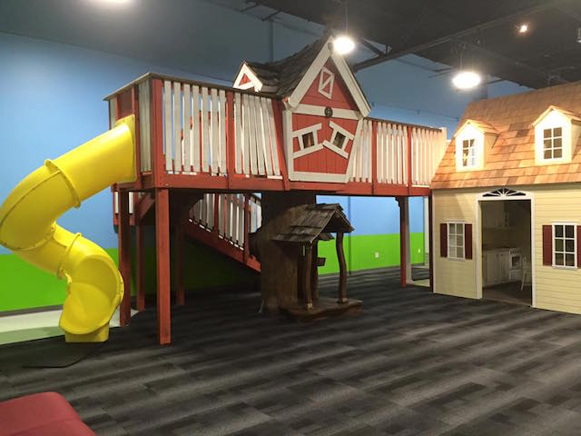 Discovery playtown house and slide from FB