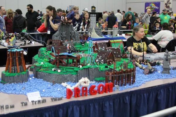 Lego Expo Dragon