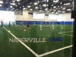 Naperville Yard Kids Playing
