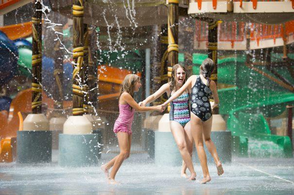 For an Indoor/Outdoor Experience: Kalahari Resorts