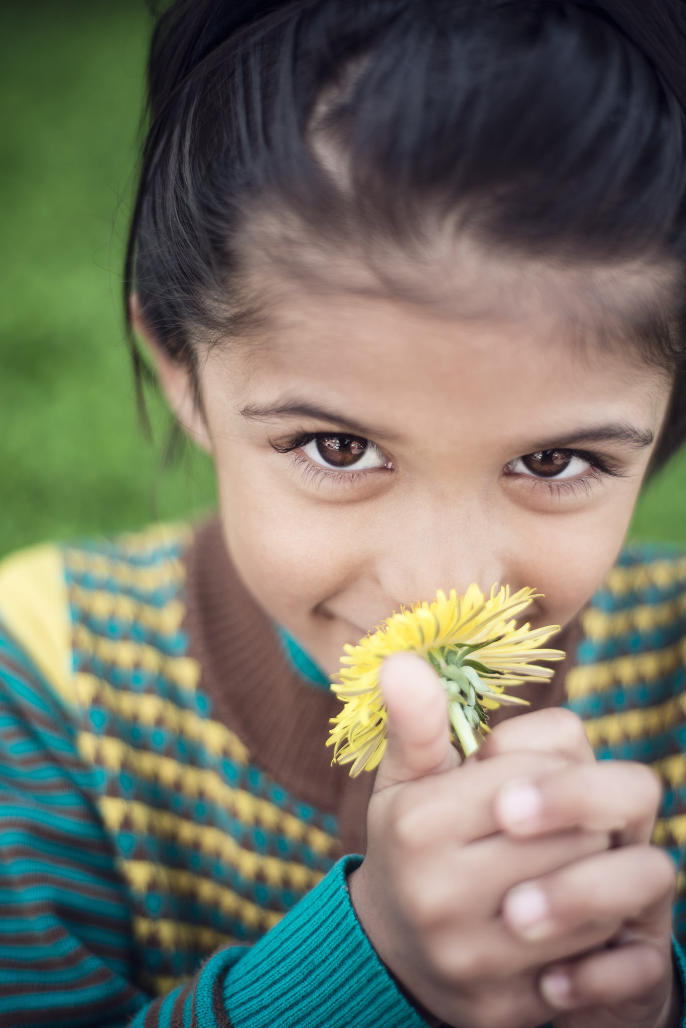 CRDT-kidhappy-12, outdoors, diversity, smile, nature, spring, flowers