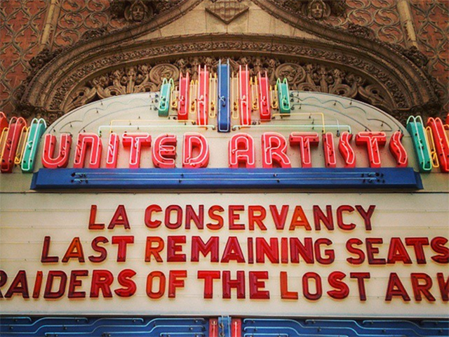 Last Remaining Seats: see old movies in glamorous old theatres in LA