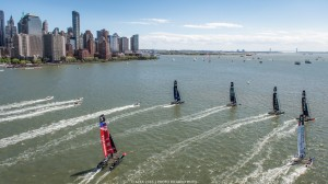 Racing Day 2 of Louis Vuitton America's Cup World Series New York
