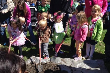 Morton Arboretum Arbor Day