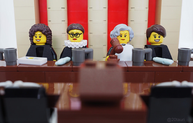 lego justice league judges for law day