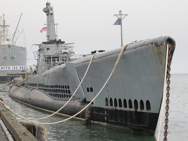 submarine USS Pampanito