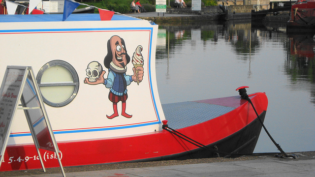 shakespeare boat